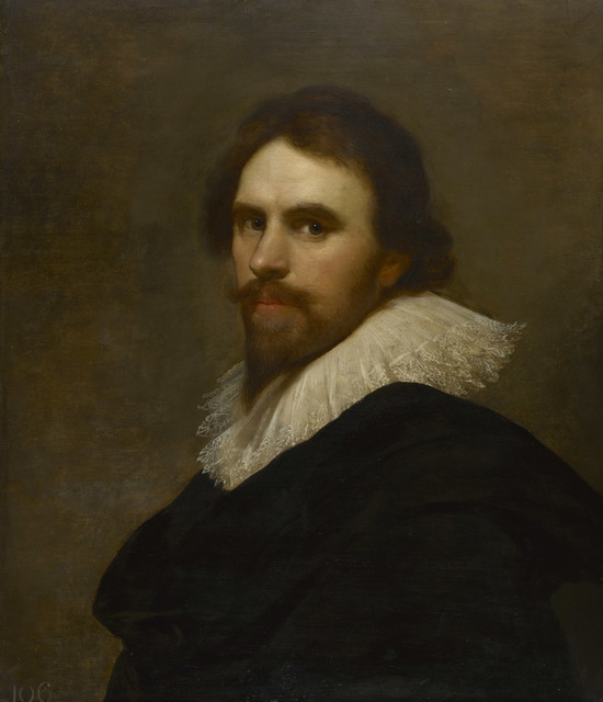 , 'A self-portrait,' ca. 1630, Royal Collection Trust