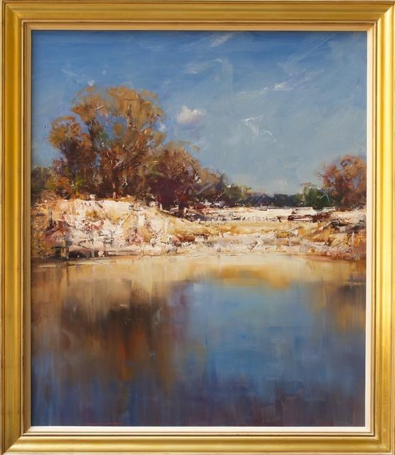 Ken Knight, 'Sheep at the Waterhole', 2014, Wentworth Galleries