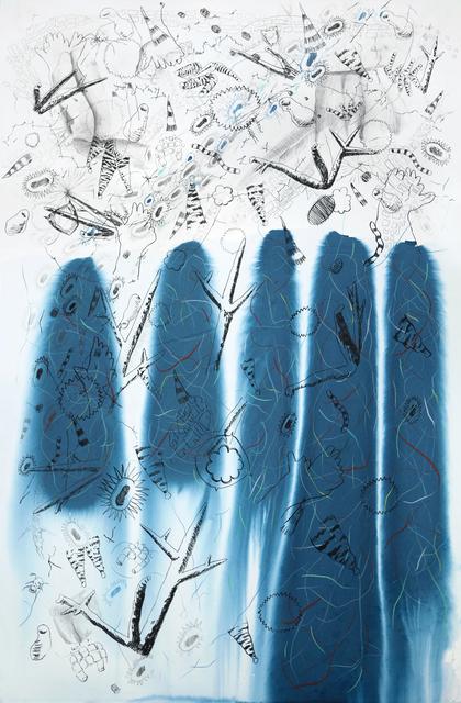 , 'Filamentous growth in zoosporangium 1,' 2018, Sala Parés