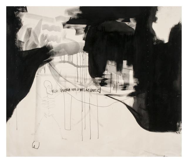 , 'Eu queria ser o Velasquez,' 2014, Roberto Alban Galeria de Arte
