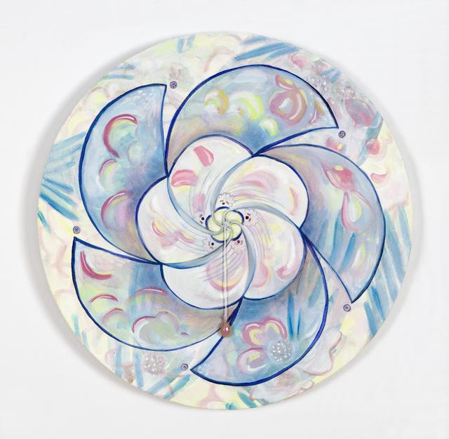 , 'Sharp Edges, Soft Flower,' 2016, Nancy Hoffman Gallery