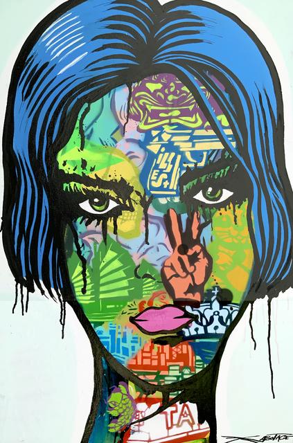 , 'Green eyes,' 2019, Art Supermarket