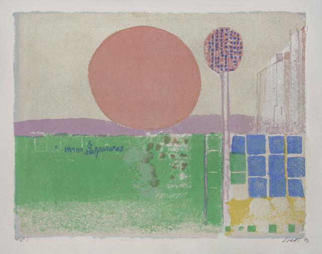 Bruno Saetti, 'Sei muri', 1977, Print, Portfolio containing six haptic lithographs, ArtRite