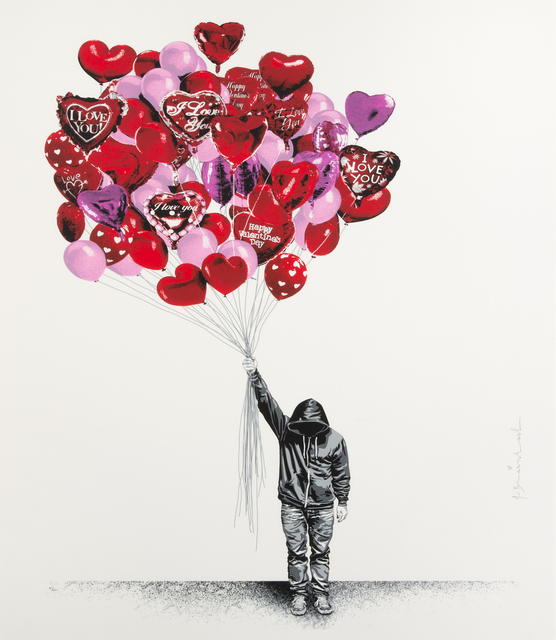 Mr. Brainwash, 'Love Is In The Air', 2015, Julien's Auctions