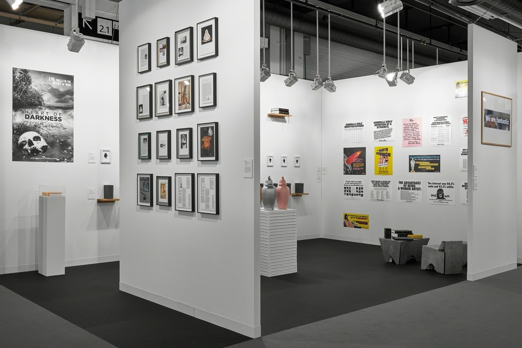 mfc-michèle didier gallery's booth (E8, Hall 2.0) in Art Basel 2017.