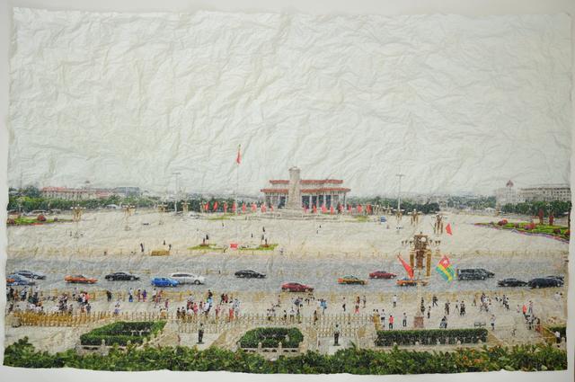 Nasan Tur, 'Places of Resistance, Tienanmen Square', 2019, Dirimart