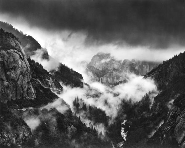 , 'Bridalveil Fall in Storm, Yosemite,' 1974-printed 2001, Scott Nichols Gallery
