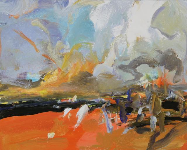 , 'Red Field IV,' 2016, Tayloe Piggott Gallery