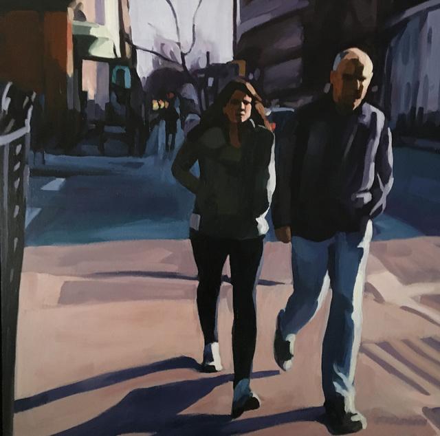 , 'Couple, Brooklyn,' 2018, Rice Polak Gallery