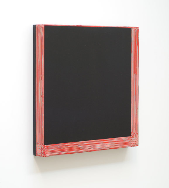 Chris and Jody Vingoe, 'Serif Series (Frame)', 2021, Painting, Acrylic paint on Masonite and wood support, Alfa Gallery