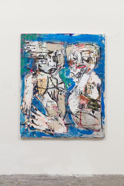 , 'Zumbi and belfie (cerulean blue),' 2016, Vigo Gallery