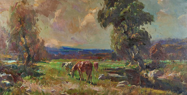 , 'Landscape with Horses,' , Gallery 901