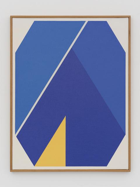 , 'Octogone bleu au triangle jaune, 10 juillet 1978,' 1978, White Cube