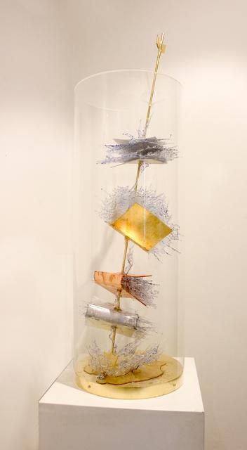 Annalù, 'Sagitta', 2018, Galleria Punto Sull'Arte