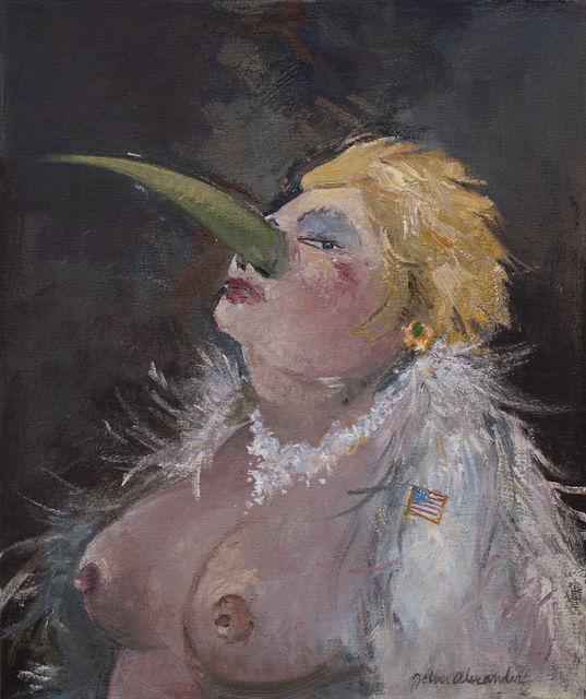 , 'Ms. Fundraiser,' 2018, Arthur Roger Gallery