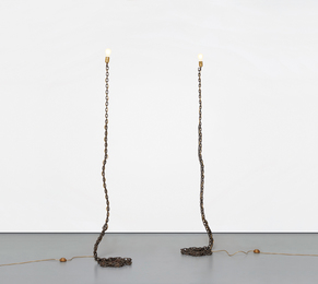 Franz West, 'Two works: (i-ii) Privat-Lampe des Künstlers II,' 1989, Phillips: 20th Century and Contemporary Art Day Sale (November 2016)