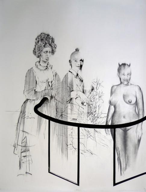 , 'Tableaux Vivant I. (Leidy B., la petite fille et la femme inconnu),' 2017, MLF | MARIE-LAURE FLEISCH