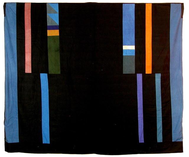 Chant Avedissian, 'Ebaya cut with blue and orange bands', 1988, Sabrina Amrani