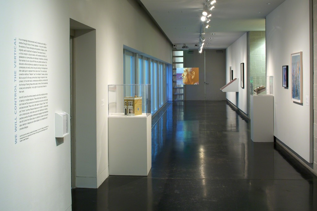 Installation view, We Will Control the Vertical, Tang Teaching Museum, 2016, photo by Arthur Evans