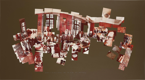 David Hockney, 'Luncheon at the British Embassy, Tokyo, February 16th 1983,' 1983, Phillips: Evening and Day Editions