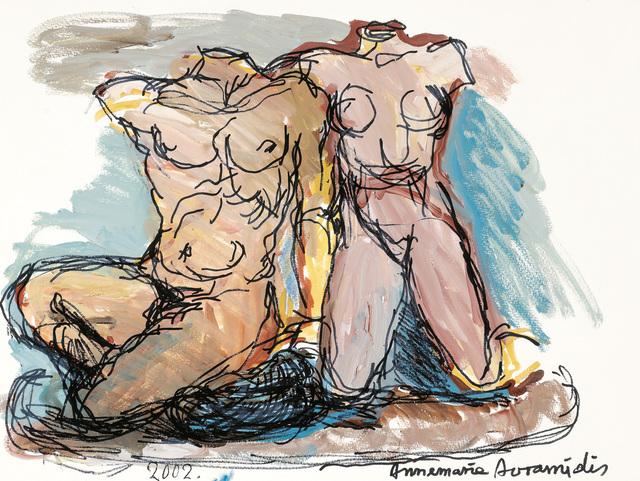 , 'Kekrops and his daughter,' 2002, Galerie Bei Der Albertina Zetter