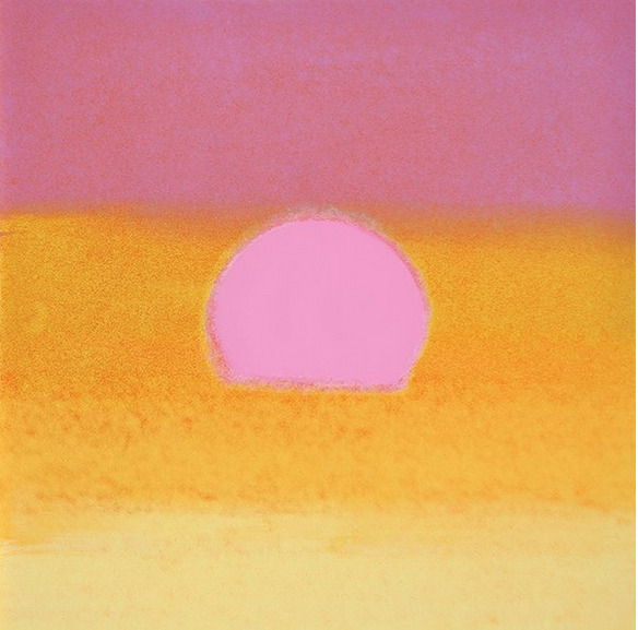 , 'Sunset (Pink/Yellow) by Andy Warhol ,' 1972, Revolver Gallery
