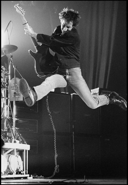 , 'Pete Townshend of The Who Jumping, UK Tour,' 1981, ElliottHalls
