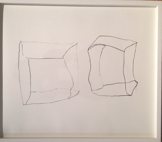 , 'Wire and Pencil Drawings,' 2018, Air Mattress Gallery