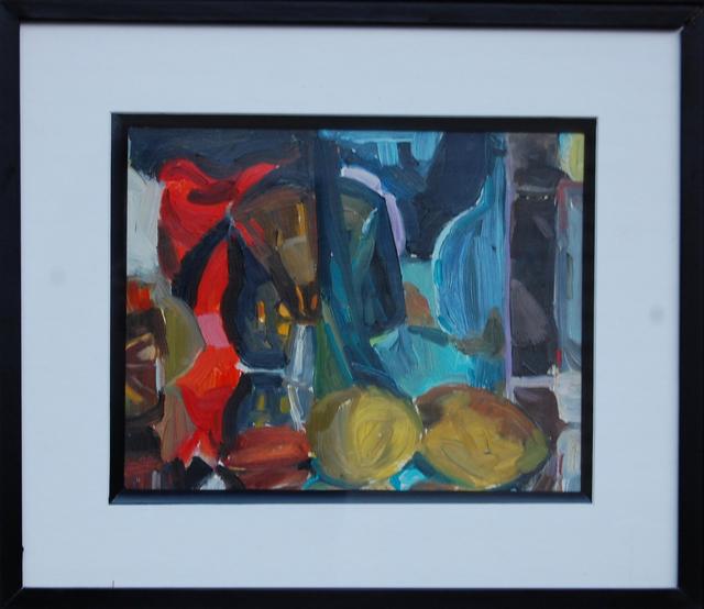 Gulgun Aliriza, 'Lemons', 2017, Painting, Oil on gessoed paper, Blue Mountain Gallery