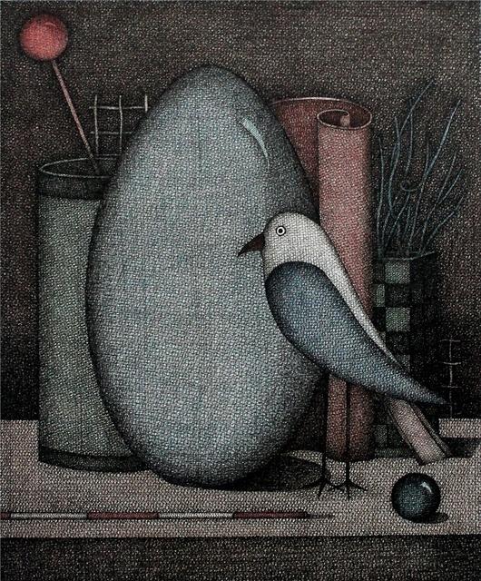 , 'Still life with a bird,' 1999, Gallery Katarzyna Napiorkowska | Warsaw & Brussels