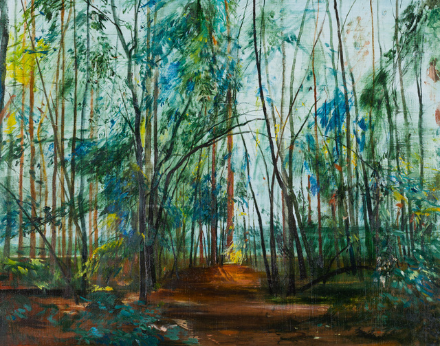 Calum McClure, 'Sweet Chestnuts, Iping Common', 2019, Candida Stevens Gallery