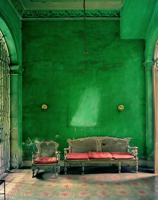 , 'Green Interior,' 2002, Edwynn Houk Gallery