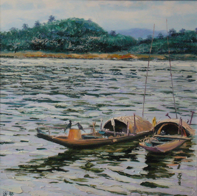 , 'Boats,' 2003, A-Art Shengzan Gallery