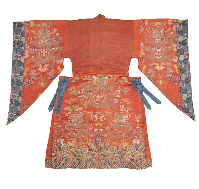 , 'Dancer's Robe,' 18th Century, Kimbell Art Museum