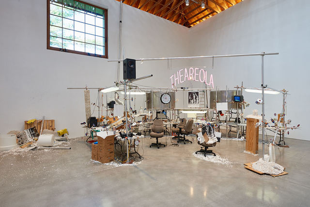 , 'Installation view, The Grand Machine/THEAREOLA,' 2002, Brant Foundation