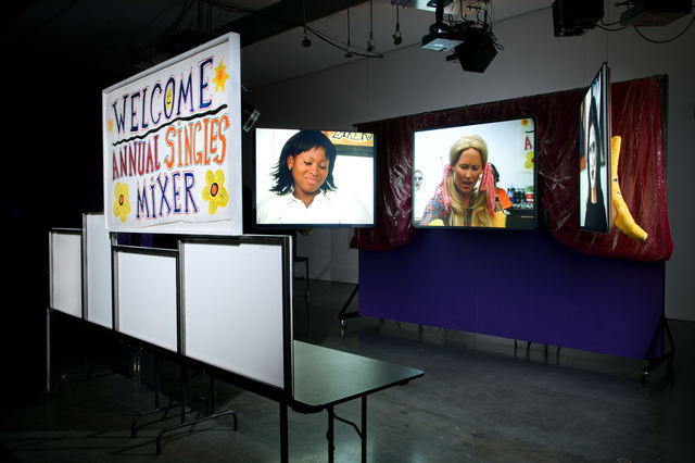 Mike Kelley, 'Extracurricular Activity Projective Reconstruction #8 (Singles' Mixer)', 2004-2005, Luhring Augustine