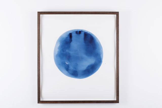 , 'Blue circle,' 2016, Prosjektrom Normanns