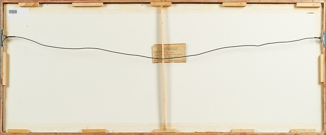Jim Dine, 'Anteater', 1955, Print, Woodcut on Japanese paper (framed), Rago/Wright