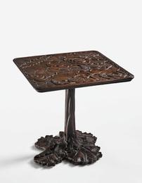 "A Rare Jin-di-Sugi ""Lotus"" Table"