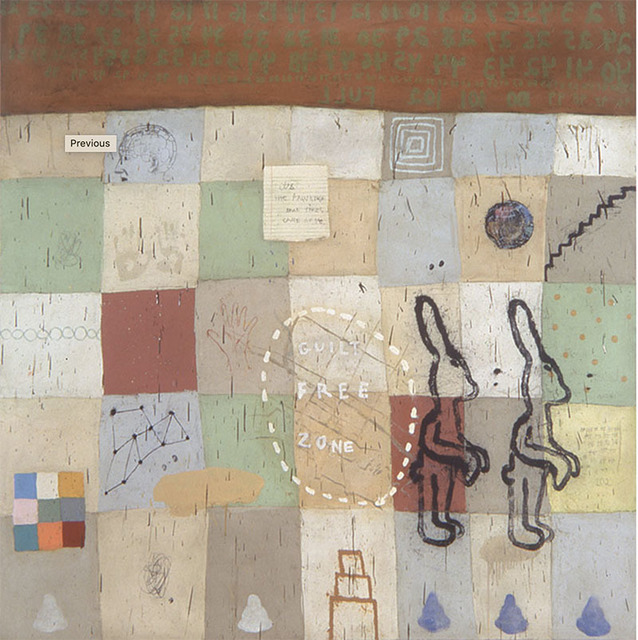 Squeak Carnwath, 'Everyday', 2002, Painting, Oil and alkyd on canvas on panel, Seager Gray Gallery
