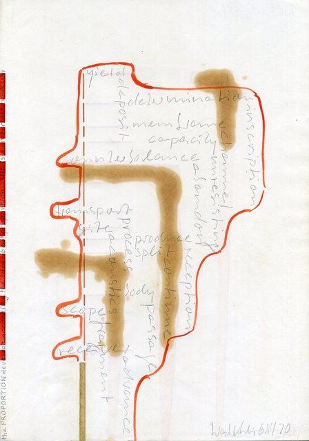 , 'Werkzeichnungen,' 1968, Galerie Jocelyn Wolff