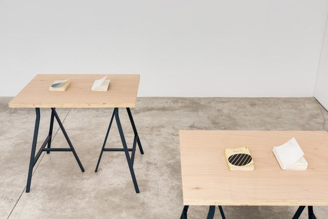 , 'Ecrits 1 & 2,' 2017, Michel Rein Paris/Brussels