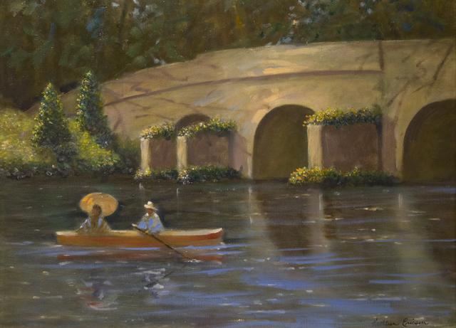 , 'Monet's Bridge,' 2016, Eastend Studio and Gallery