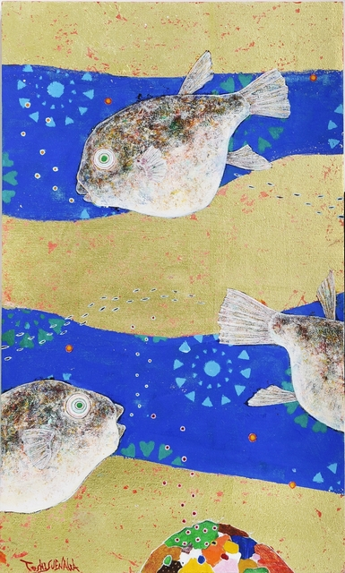 , 'Fantasy of the fish,' 2016, Seijou Sakurasaku Gallery