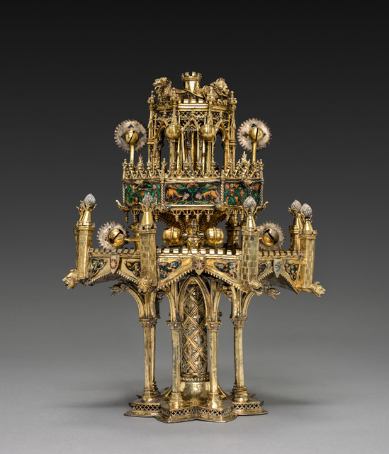 France, Paris, 14th century, 'Table Fountain', c. 1320-1340, Cleveland Museum of Art