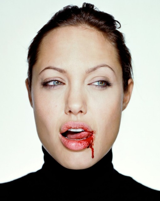 , 'Angelina with Blood,' 2000, Amstel Gallery