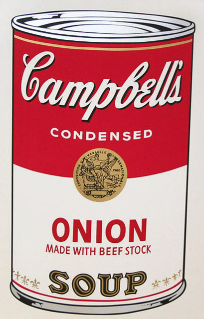 Andy Warhol, 'Campbell's Soup I, II.47 Onion Made with Beef Stock      ', 1968, Elizabeth Clement Fine Art