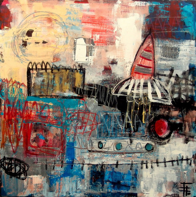 , 'Fly me to the moon ,' 2017, Galerie The Artist