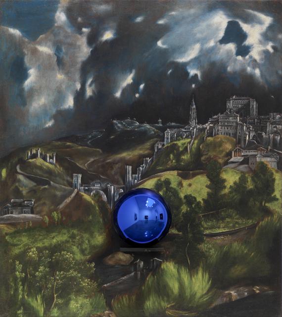 , 'Gazing Ball (El Greco View of Toledo),' 2015, Gagosian