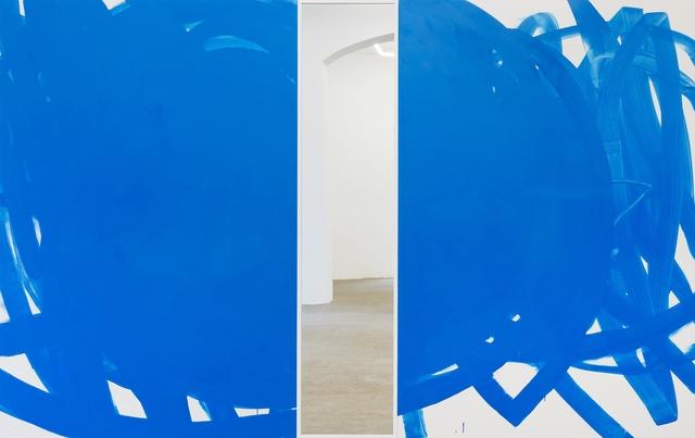 """, '""""Blaue Lagune"""",' 2017, Galerie Elisabeth & Klaus Thoman"""